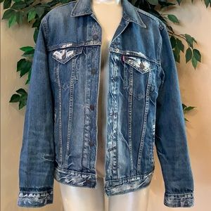 Levi's Acid Washed Jacket
